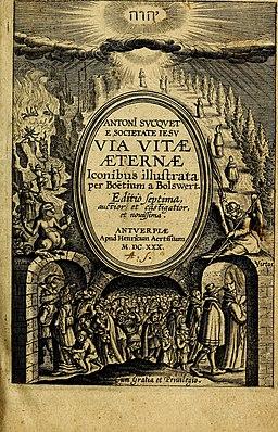 Antoni Sucquet Via vitae aeternae (1630)